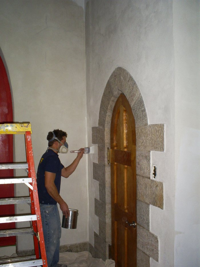 Interior Building Restoration of National Historic Landmark, Bryn Athyn Cathedral in Bryn Athyn, PA