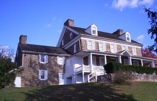 Exterior Painting at John James Audubon Homestead Historic Landmark in Audubon, PA